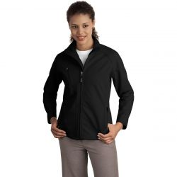 Port Ladies Textured Soft Shell Jacket