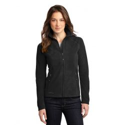 Eddie Bauer Ladies Full Zip Microfleece Jacket